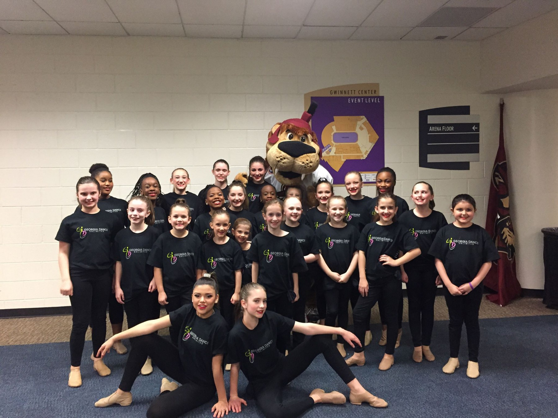 Performing Company Performs at Atlanta Gladiators Game